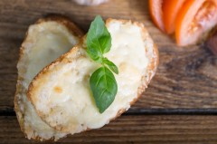 2. GARLIC BREAD with cheese