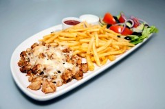 4. POULTRY KEBAB  BAKED WITH CHEESE