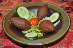 Kibbe mi'lije veget. Cheese كبة مقلية بالجبنة