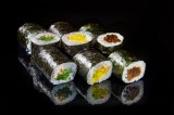 Hosomaki with vegetables (6 pcs)