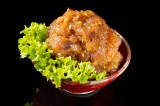 Bowl of spicy tuna tatar