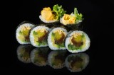 Roll with vegetables (6 pcs)