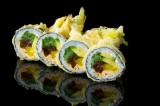 Tempura roll with vegetables (6 pcs)