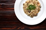 2. Risotto with chicken, bay boletus and green parsley