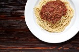 6. Spaghetti with traditional Bolognese sauce