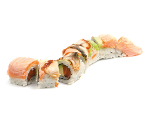 dragon roll 6 pcs