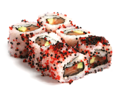 tobiko roll 6 pcs