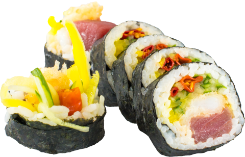 hot maguro roll 6 szt.