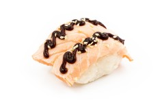 GRILLED SALMON SUSHI