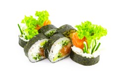 SALMON / TUNA PHILADELPHIA ROLL