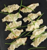 10 pcs Shrimp potstickers