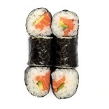 Salmon-avocado maki