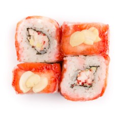 California Strawberry Ebi Roll