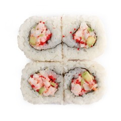 Uramaki with shrimp salad