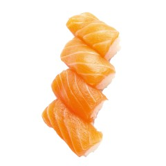 Nigiri with salmon 4 pcs