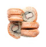 Mini Grill Salmon Roll 6 pcs