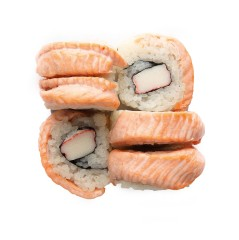 Mini Grill Salmon Roll 6 szt.