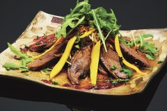 mango duck salad lunch