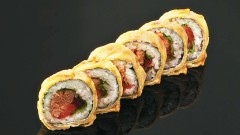 strawberry roll 6szt.