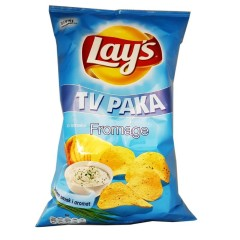 Lay's fromage megapack plus two sauces