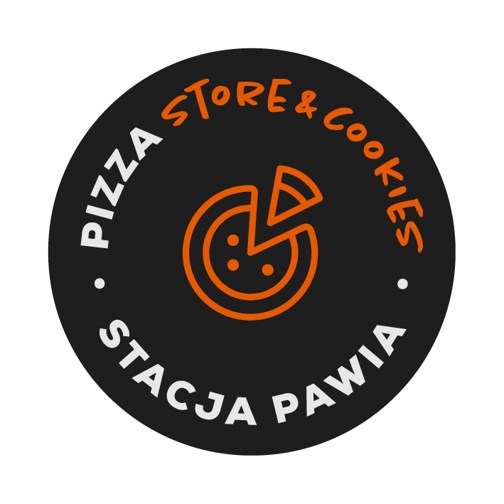 logo-Pizza store and cookies